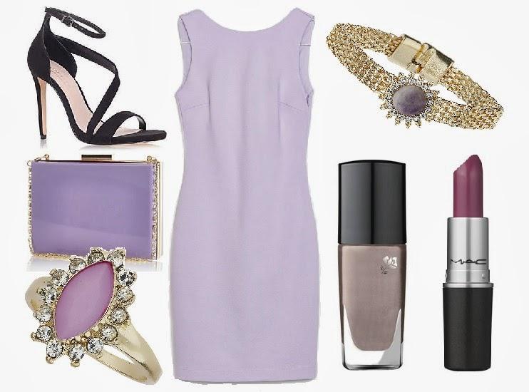 feaa38686c Lilac Tube Dress Ruffle Back £25.99